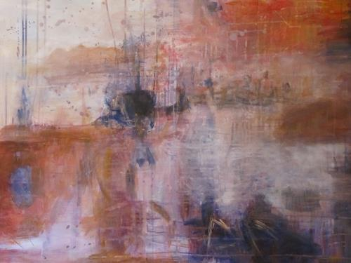 Barbara Schauß, Fernweh, Landscapes, Abstract art, Contemporary Art