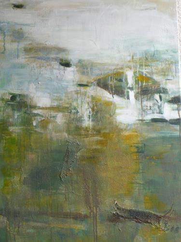 Barbara Schauß, waterscape, Landscapes, Abstract art, Contemporary Art