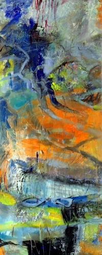 Barbara Schauß, wild today, Abstract art, Fantasy, Contemporary Art