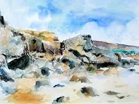 Barbara-Schauss-1-Landscapes-Beaches-Nature-Water-Contemporary-Art-Contemporary-Art
