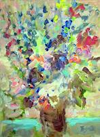 Barbara-Schauss-1-Plants-Flowers-Still-life-Modern-Age-Impressionism