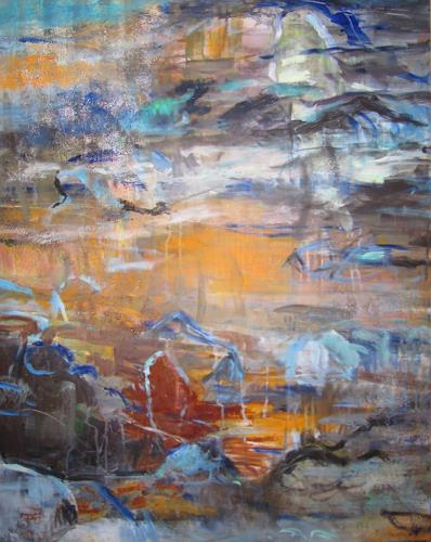 Barbara Schauß, born to be wild, Landscapes, Abstract art, Contemporary Art