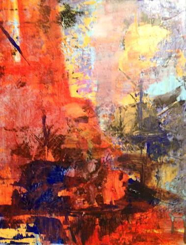 Barbara Schauß, Principle, Abstract art, Buildings, Abstract Art
