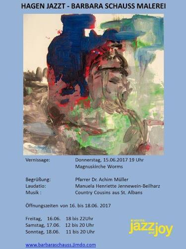 Barbara Schauß, HAGEN JAZZT, Miscellaneous, Music: Instruments, Contemporary Art