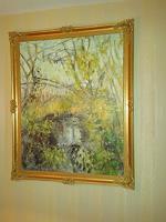 Barbara-Schauss-1-Landscapes-Summer-Miscellaneous-Plants-Modern-Age-Impressionism-Neo-Impressionism