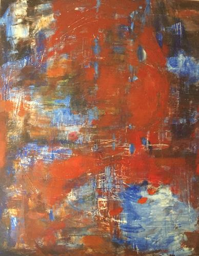 Barbara Schauß, VERVE, Abstract art, Miscellaneous, Abstract Expressionism