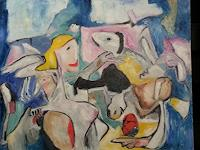 Doleta-Kaminskiene-Abstract-art-People-Women-Modern-Age-Abstract-Art