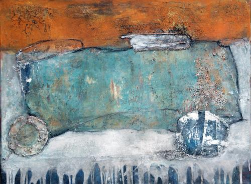 Magdalena Oppelt, Zeitreise, Abstract art, Traffic: Car, Abstract Art, Expressionism