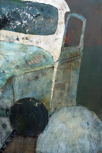 Magdalena Oppelt, Tin Lizzie, Traffic: Car, Abstract art, Contemporary Art, Abstract Expressionism