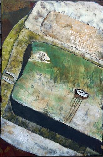 Magdalena Oppelt, forgotten, Abstract art, Traffic: Car, Contemporary Art