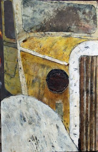 Magdalena Oppelt, Golden Ager, Traffic: Car, Abstract art, Art Déco, Expressionism