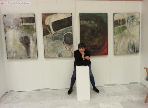 Magdalena Oppelt, ARTE Binningen 2017, Abstract art, Abstract Art