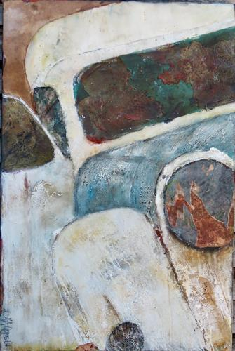 Magdalena Oppelt, Boogie woogie, Abstract art, Traffic: Car, Abstract Art