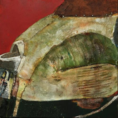 Magdalena Oppelt, Paperino, Abstract art, Traffic: Motorcycle, Bauhaus