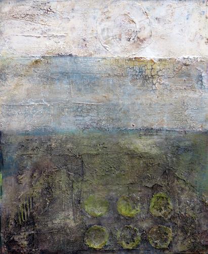 Magdalena Oppelt, Im ewigen Kreis, Abstract art, Symbol, Abstract Art, Abstract Expressionism