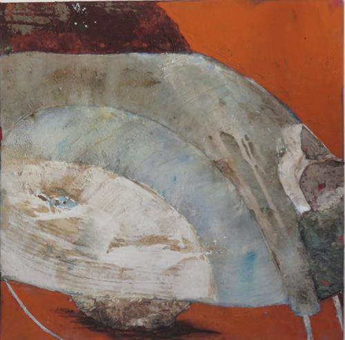 Magdalena Oppelt, CICCINA, Traffic: Motorcycle, Abstract art, Concrete Art, Expressionism