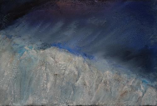 Magdalena Oppelt, Cold feelings, Landscapes: Winter, Nature: Water, Non-Objectivism [Informel]