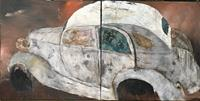 Magdalena-Oppelt-Abstract-art-Traffic-Car-Modern-Age-Concrete-Art