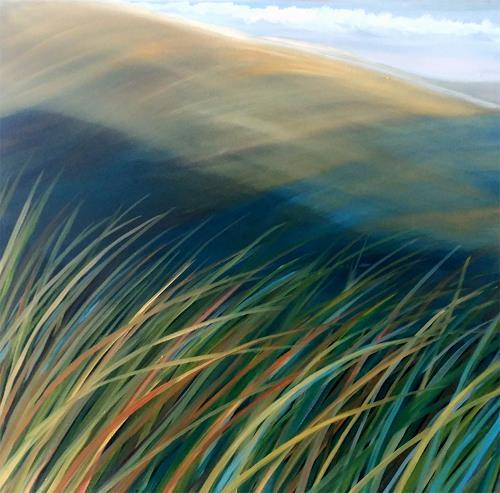Claire Mesnil, Seabreeze, Landscapes: Sea/Ocean, New Figurative Art, Expressionism
