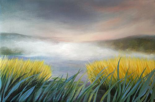 Claire Mesnil, After the Storm, Landscapes, Nature: Miscellaneous, Contemporary Art