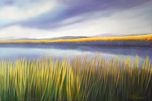 Claire Mesnil, Brighter Days, Miscellaneous Landscapes, Nature: Miscellaneous, Contemporary Art