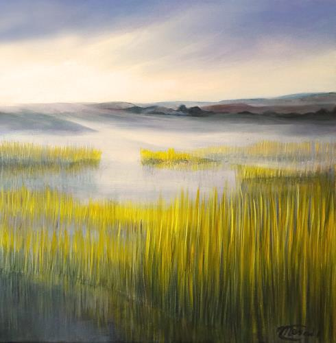 Claire Mesnil, Morning Hike, Miscellaneous Landscapes, Nature: Miscellaneous, Contemporary Art