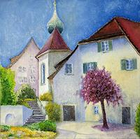 ALEX-BECK-Landscapes-Buildings-Churches-Modern-Times-Realism