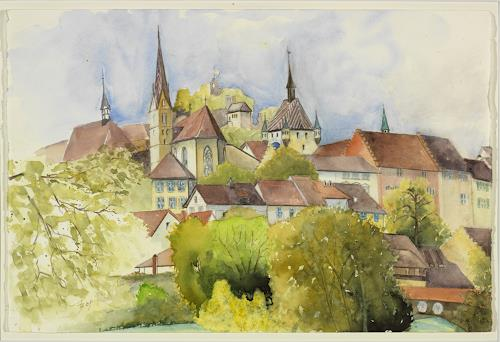 ALEX BECK, Stadt Baden/AG, Interiors: Cities, Architecture, Realism