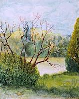 ALEX-BECK-Landscapes-Sea-Ocean-Plants-Trees-Modern-Times-Realism