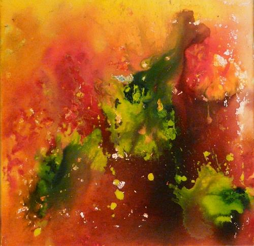 ALEX BECK, Herbst  Fall, Abstract art, Fantasy, Contemporary Art