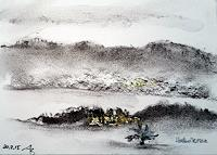 ALEX-BECK-Landscapes-Winter-Nature-Modern-Age-Expressive-Realism