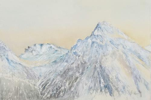 ALEX BECK, Arosa/GR,  Schiesshorn, Landscapes: Mountains, Nature: Rock, Realism
