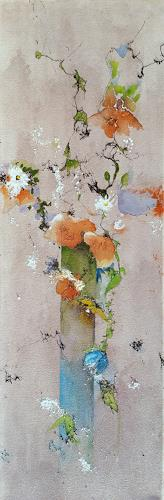 ALEX BECK, Flower Variation, Plants: Flowers, Abstract art