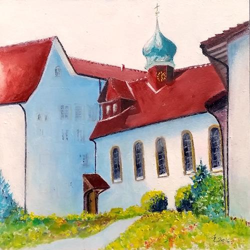 ALEX BECK, Klosterkirche, Zentralbau, Gnadenthal, Buildings: Churches, Architecture, Naturalism