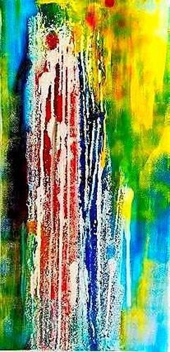 Marion Eßling, Water spring, Leisure, Abstract Art