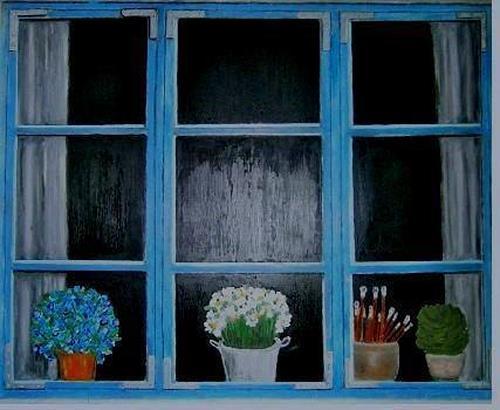 Marion Eßling, Landidyll, Interiors, Abstract Art