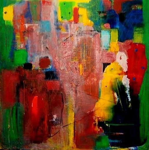 Marion Eßling, Kunterbunt, Abstract art, Expressionism