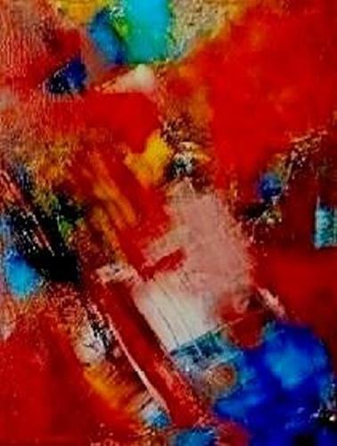 Marion Eßling, Tornado, Abstract art, Movement