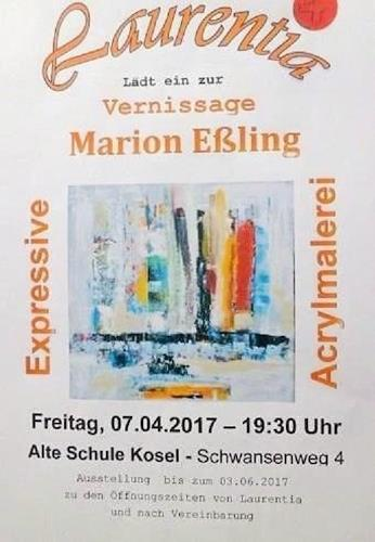 Marion Eßling, Vernissage, Miscellaneous, Abstract Art
