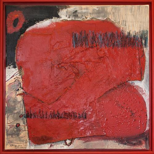 Marion Eßling, Kiss Me Red, Emotions: Joy, Abstract Expressionism