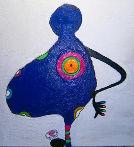 Marion Eßling, Ich freue mich auf dich!, Emotions: Joy, Pop-Art, Abstract Expressionism