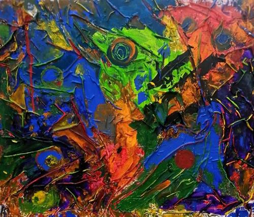 Marion Eßling, Dschungelcamp für Promis, Burlesque, Abstract Art, Abstract Expressionism