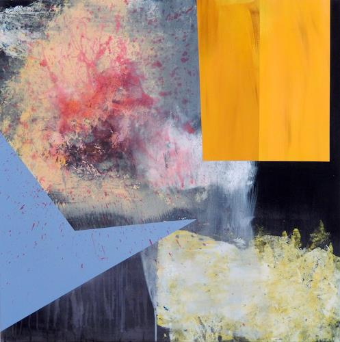 Monika Buchen, out of nowhere, Abstract art, Architecture, Contemporary Art, Abstract Expressionism