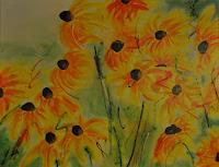 Barbara-Ofner-Plants-Flowers-Landscapes-Summer-Contemporary-Art-Contemporary-Art