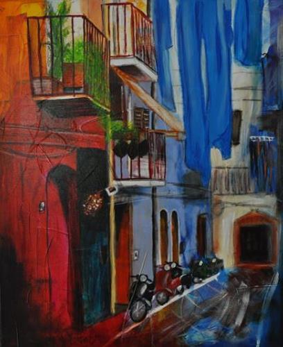 Barbara Ofner, Viva Italia, Decorative Art, Interiors: Cities, Contemporary Art