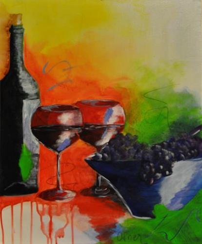 Barbara Ofner, Genuss, Still life, Decorative Art, Contemporary Art