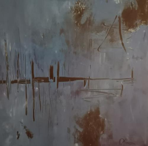 Barbara Ofner, See, Nature, Decorative Art, Contemporary Art, Expressionism