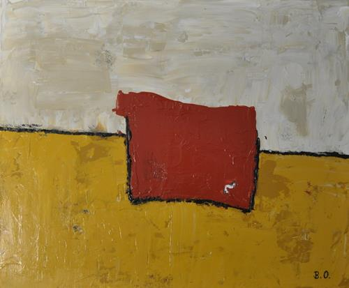 Barbara Ofner, Wüste, Abstract art, Landscapes: Plains, Contemporary Art, Abstract Expressionism