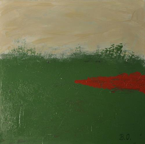 Barbara Ofner, Heide, Abstract art, Nature, Contemporary Art