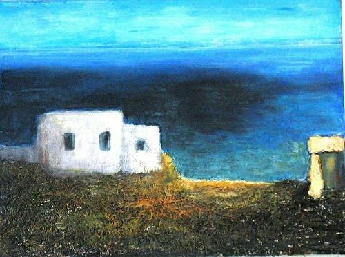 Heidi Schröder, Sommer in Griechenland, Landscapes, Abstract Art